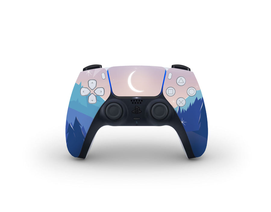 Sticky Bunny Shop PS5 Controller Lunar Mountains PS5 Controller Skin