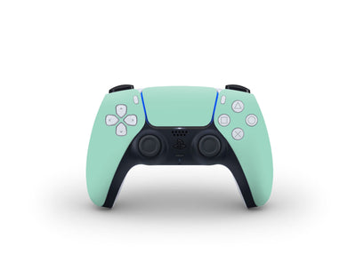 Sticky Bunny Shop PS5 Controller Mint Cute Solid Pastel PS5 Controller Skin | Choose Your Color