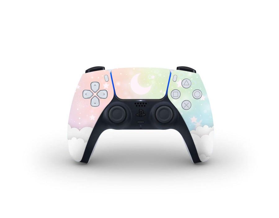 Sticky Bunny Shop PS5 Controller Pastel Lunar Sky PS5 Controller Skin
