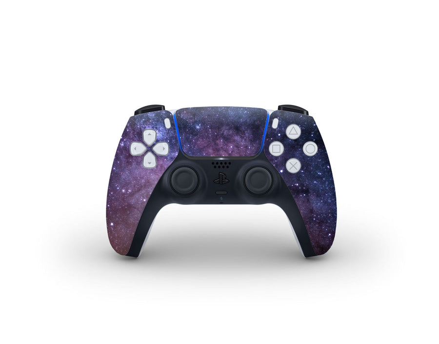 Sticky Bunny Shop PS5 Controller Purple Galaxy PS5 Controller Skin