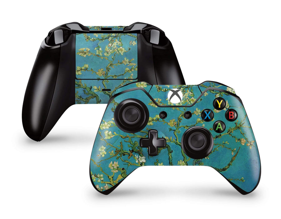 Sticky Bunny Shop Xbox Controller Xbox One Almond Blossom By Vincent Van Gogh Xbox Controller Skin