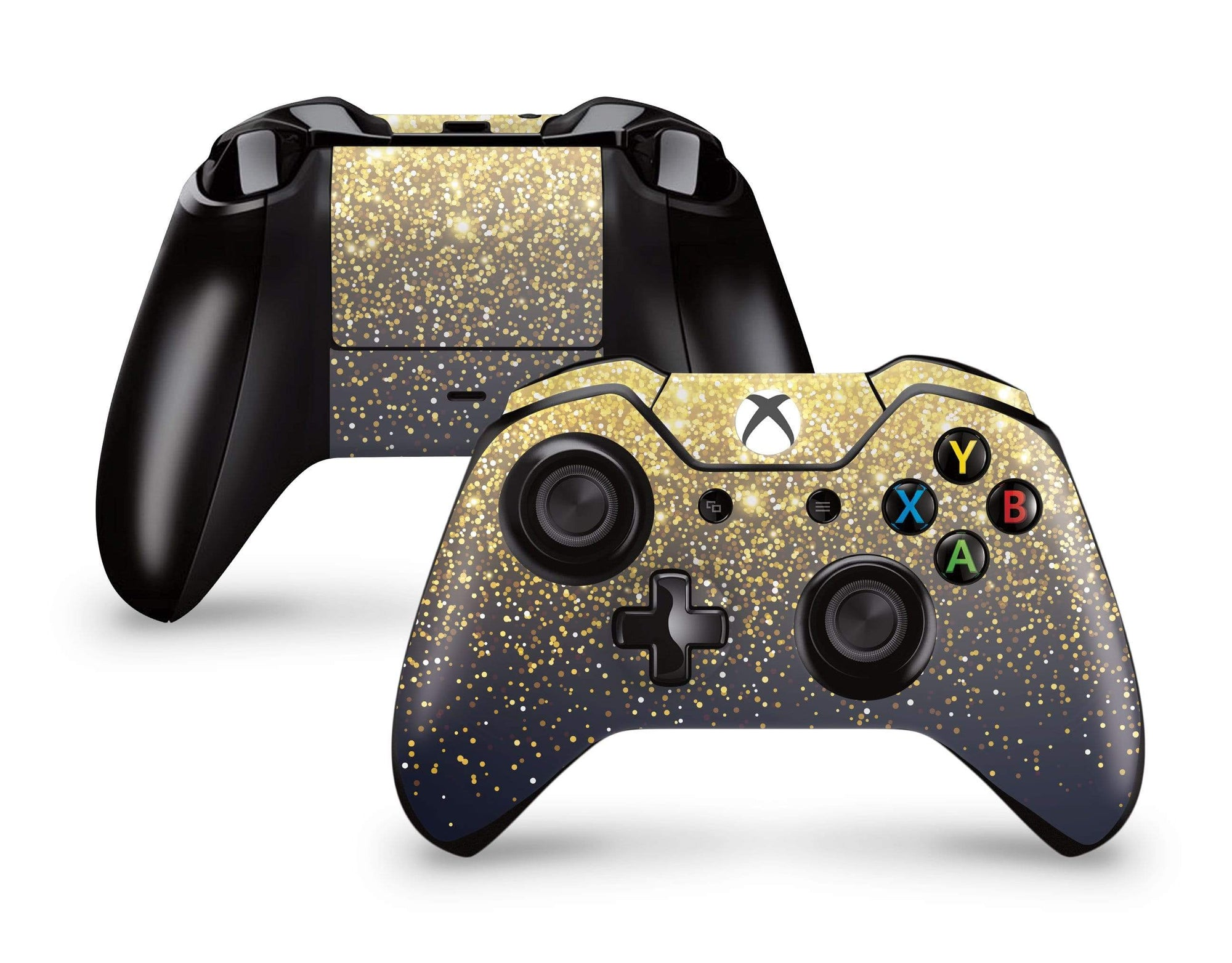 Amazon.com: SKINOWN Xbox One Controller Gold Skin Golden ... |Gold Xbox One Controller Skin