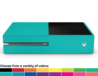 Sticky Bunny Shop Xbox One Classic Solid Color Xbox One Skin | Choose Your Color