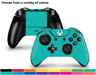 Sticky Bunny Shop Xbox One Controller Classic Solid Color Xbox One Controller Skin | Choose Your Color