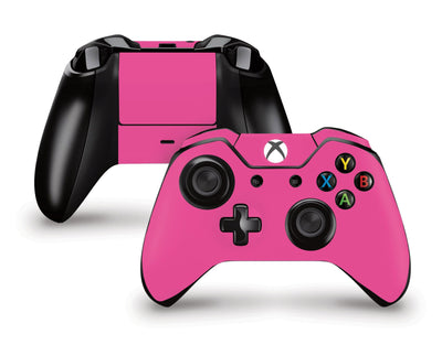 Sticky Bunny Shop Xbox One Controller Pink Classic Solid Color Xbox One Controller Skin | Choose Your Color