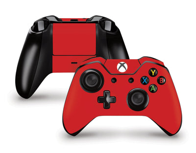 Sticky Bunny Shop Xbox One Controller Red Classic Solid Color Xbox One Controller Skin | Choose Your Color