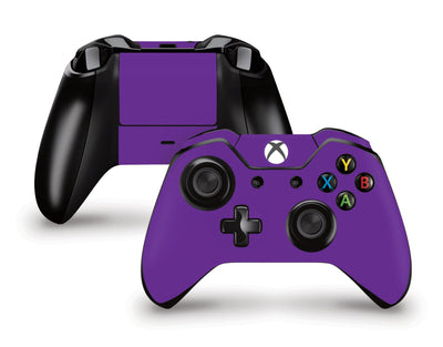 Sticky Bunny Shop Xbox One Controller Violet Classic Solid Color Xbox One Controller Skin | Choose Your Color