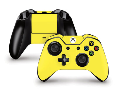 Sticky Bunny Shop Xbox One Controller Yellow Classic Solid Color Xbox One Controller Skin | Choose Your Color