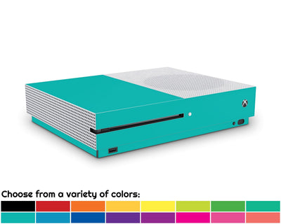 Sticky Bunny Shop Xbox One S Classic Solid Color Xbox One S Skin | Choose Your Color