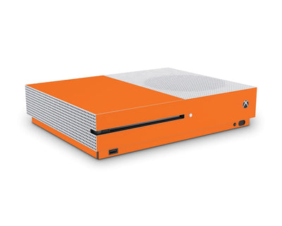 Sticky Bunny Shop Xbox One S Orange Classic Solid Color Xbox One S Skin | Choose Your Color