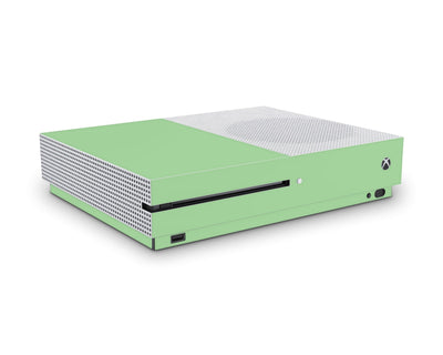 Sticky Bunny Shop Xbox One S Pastel Green Cute Solid Pastel Xbox One S Skin | Choose Your Color