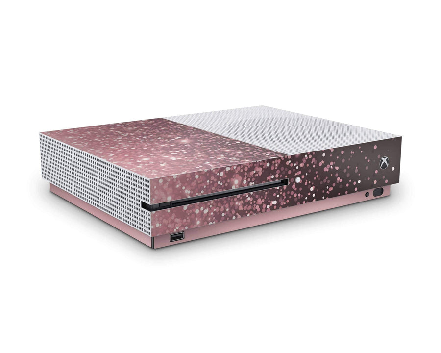 Sticky Bunny Shop Xbox One S Rose Simple Dots Xbox One S Skin