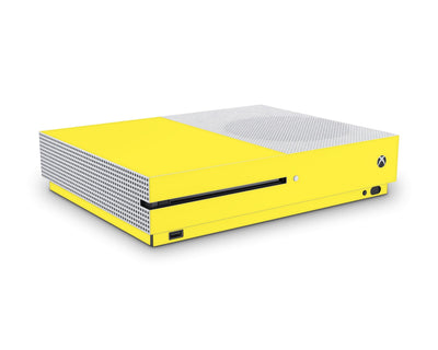 Sticky Bunny Shop Xbox One S Yellow Classic Solid Color Xbox One S Skin | Choose Your Color