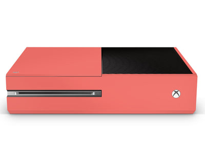 Sticky Bunny Shop Xbox One Xbox One / Coral Classic Solid Color Xbox One Skin | Choose Your Color