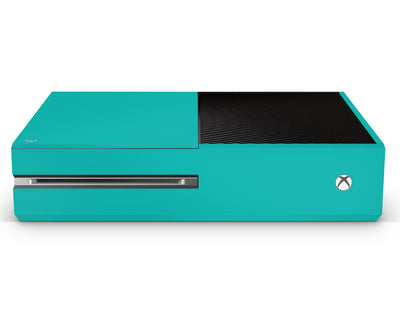 Sticky Bunny Shop Xbox One Xbox One / Teal Classic Solid Color Xbox One Skin | Choose Your Color
