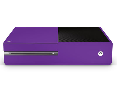 Sticky Bunny Shop Xbox One Xbox One / Violet Classic Solid Color Xbox One Skin | Choose Your Color