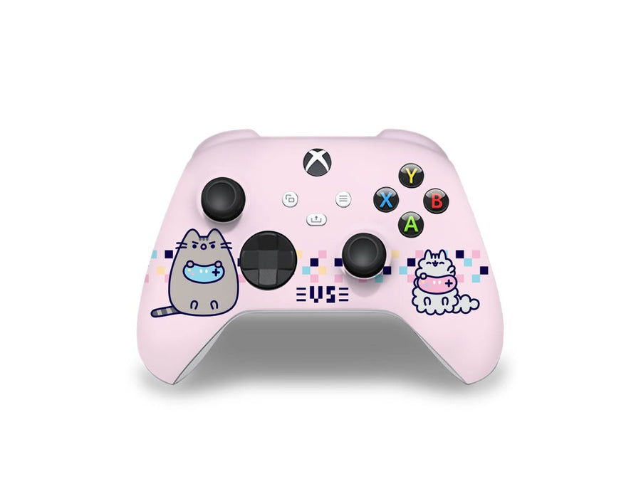 Sticky Bunny Shop Xbox Series Controller Gaming Pusheen Xbox Series Controller Skin