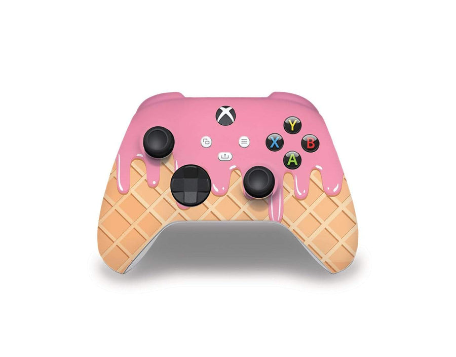 Sticky Bunny Shop Xbox Series Controller Melted Ice Cream Cone Xbox Series Controller Skin