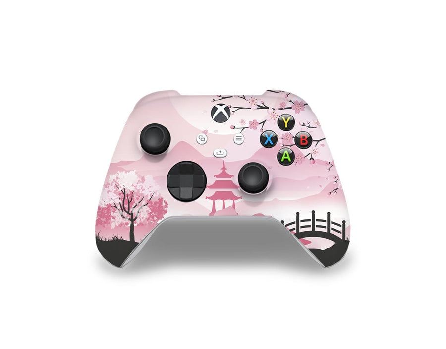 Sticky Bunny Shop Xbox Series Controller Pink Sakura Xbox Series Controller Skin