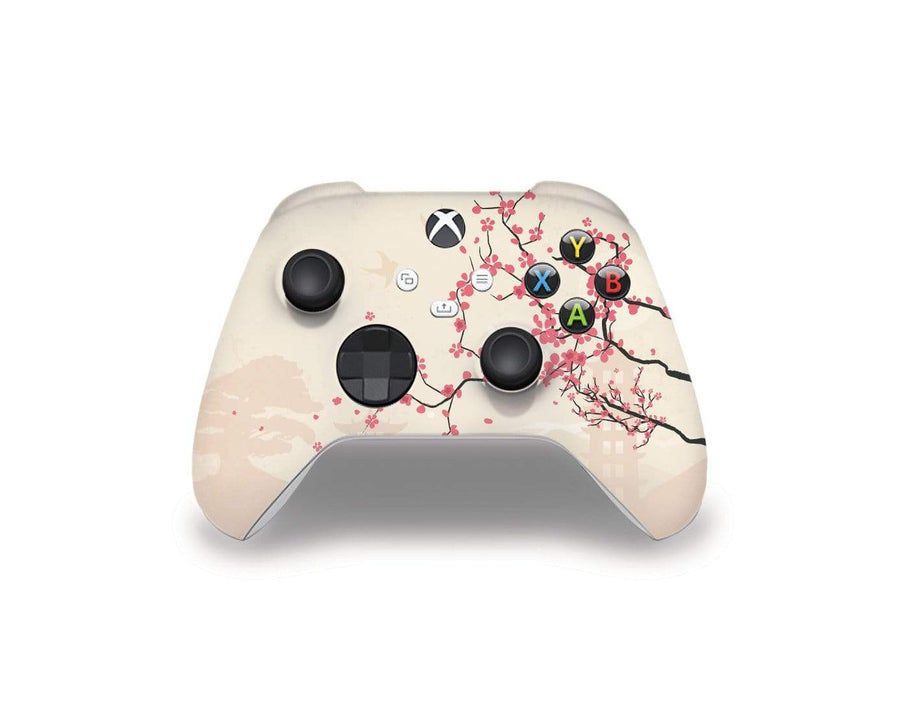 Sticky Bunny Shop Xbox Series Controller Sakura Blossoms Xbox Series Controller Skin