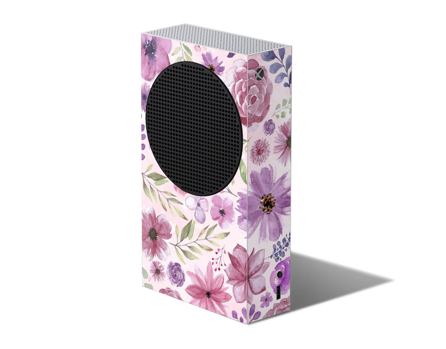 Sticky Bunny Shop Xbox Series S Watercolor Flowers Xbox Series S Skin