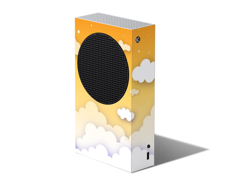 Sticky Bunny Shop Xbox Series S Yellow Clouds In The Sky Xbox Series S Skin