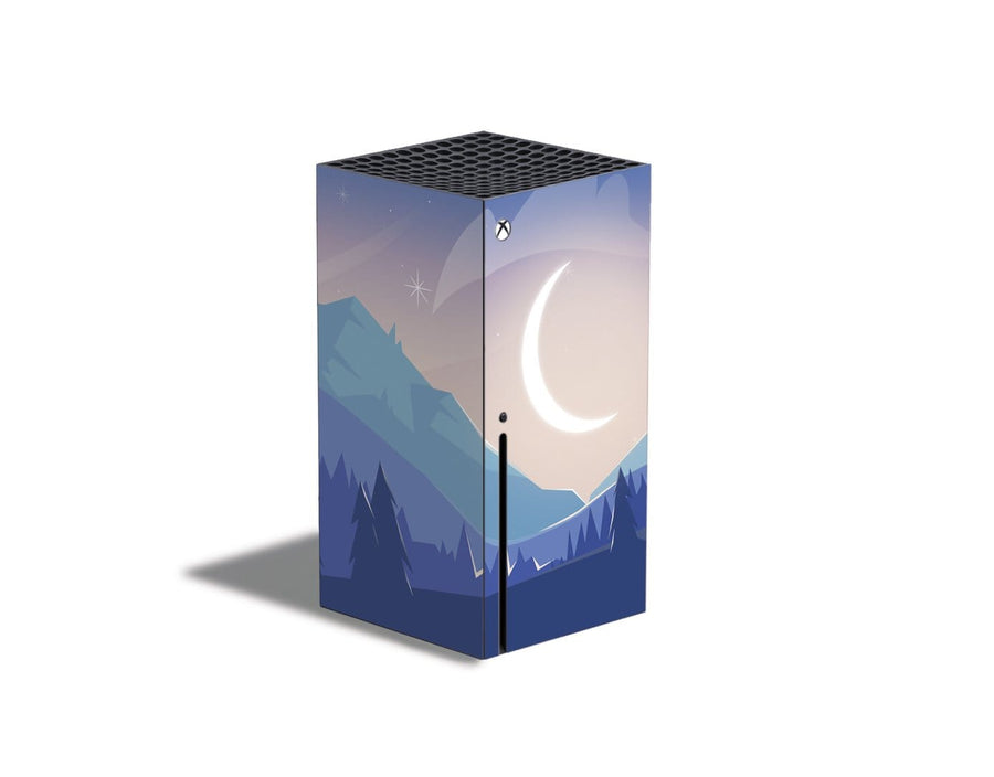 Sticky Bunny Shop Xbox Series X Lunar Mountains Xbox Series X Skin
