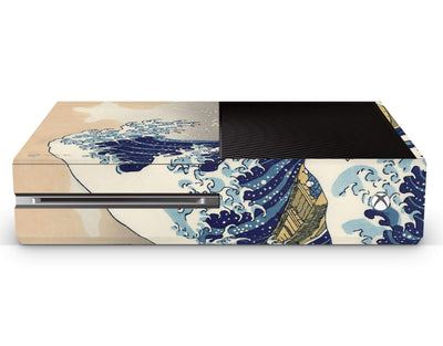Sticky Bunny Shop Xbox Skin Xbox One Great Wave Off Kanagawa By Hokusai Xbox Skin