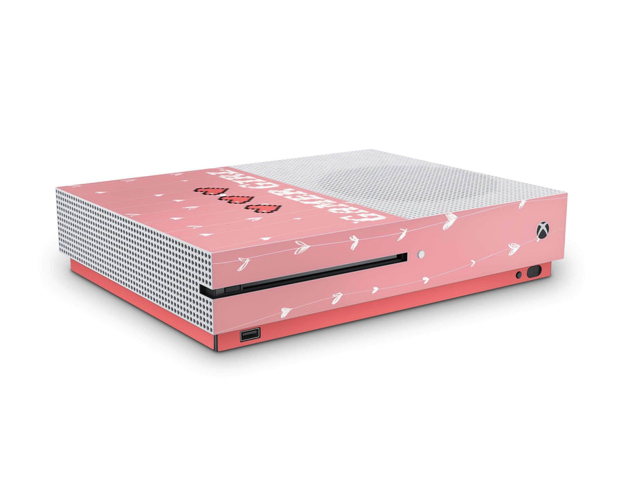 Sticky Bunny Shop Xbox Skin Xbox One S 8-Bit Retro Gamer Girl Xbox One S Skin