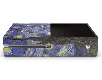 Sticky Bunny Shop Xbox Skin Xbox One Starry Night By Van Gogh Xbox Skin