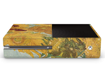 Sticky Bunny Shop Xbox Skin Xbox One Twelve Sunflowers By Van Gogh Xbox Skin