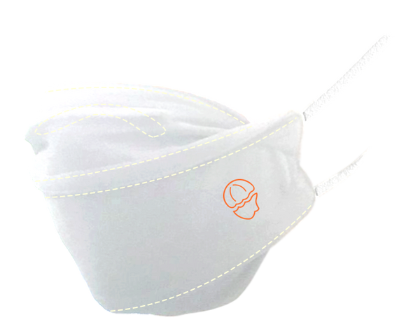 Premium White · Reusable · 2-Layer Face Mask
