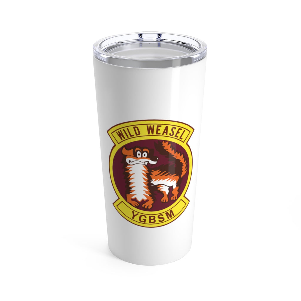 Wild Weasel Patch Tumbler 20oz