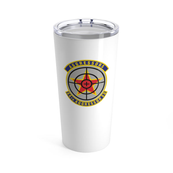 64th Aggressor Squadron Tumbler 20oz