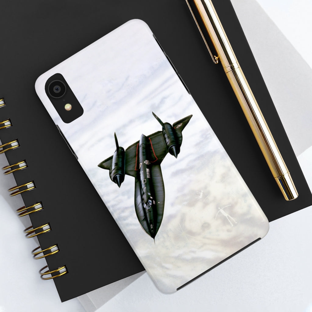 SR-71 Blackbird Case Mate Tough Phone Case