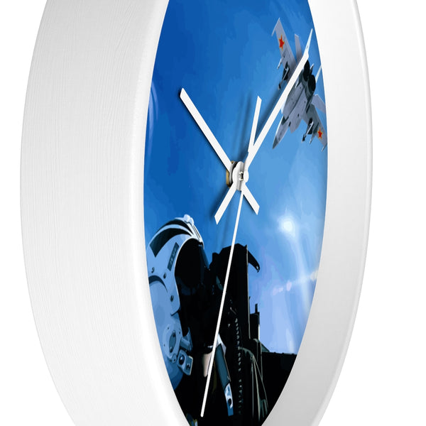 The Merge Artwork Wall clock