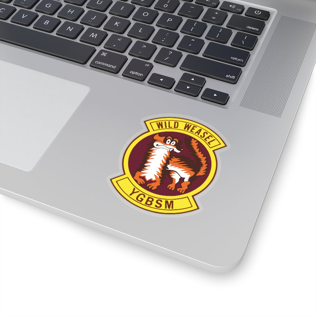 Wild Weasel Squadron Patch Stickers