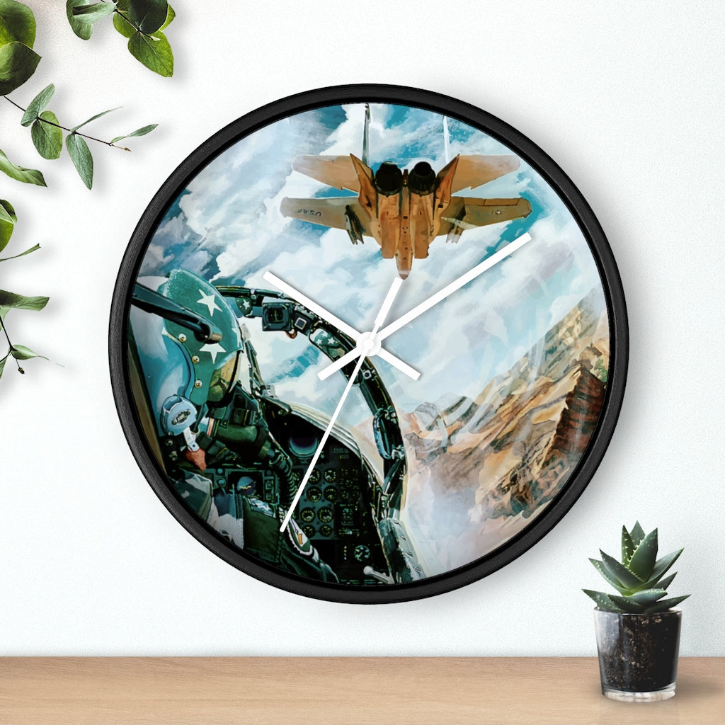 Staying Tight Artwork Wall clock