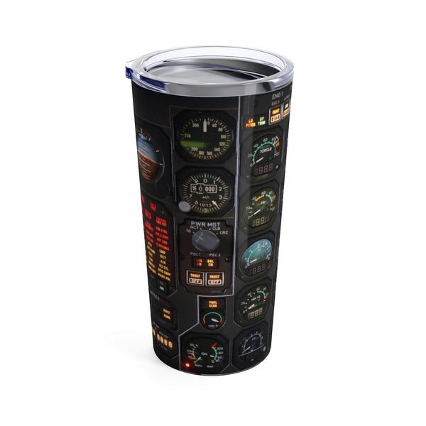 Cockpit Gauges Tumbler 20oz