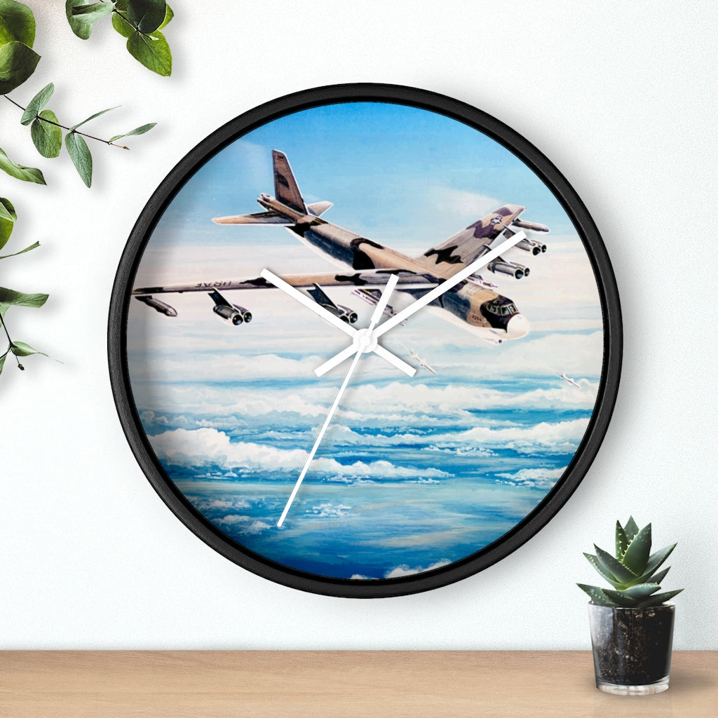 B-52 Stratofortress Harpoon Launch Wall clock