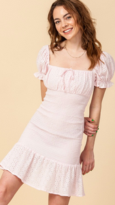 Feeling Flirty Smocked Dress