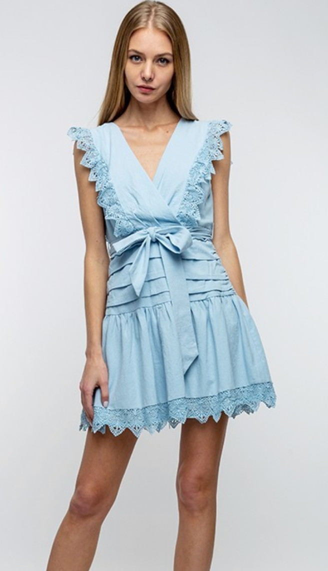Sweet Love Blue Dress