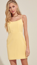 Load image into Gallery viewer, Sunshine Yellow Bodycon Dress