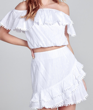 Load image into Gallery viewer, Lovely Day White 2 Piece Set