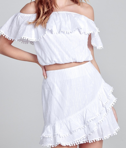 Lovely Day White 2 Piece Set