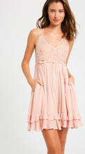 Load image into Gallery viewer, Girls Day Pink Dress With Pockets