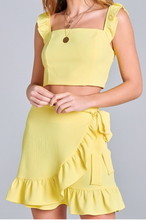 Load image into Gallery viewer, Dreaming In Yellow Two Piece Set
