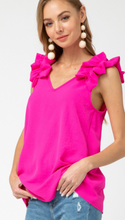 Load image into Gallery viewer, Belle Pink Fashion Tank Top