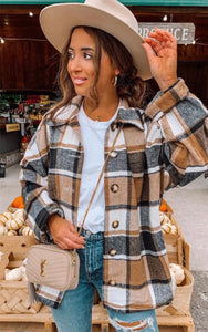 The Addison Flannel Button Down