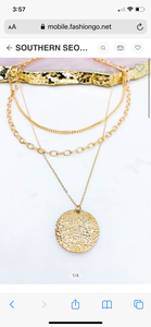 Layla Coin Necklace